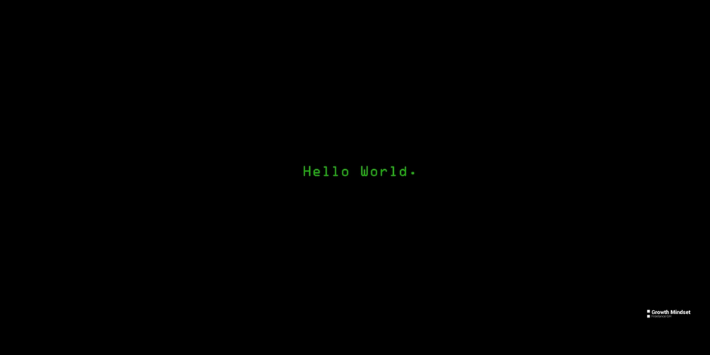 hello word !