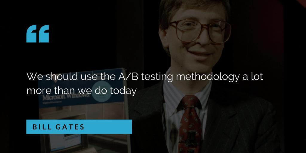 google analytics test ab